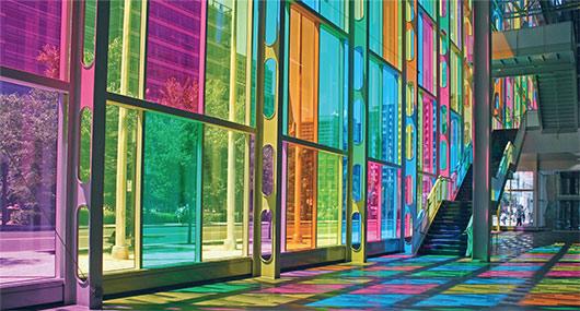 Birmingham-Laminated-Glass-Colourful-glass