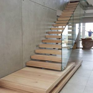Glass Stairs Balustrade in Mauritius